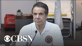 "Cuomo: New York is ""scrambling"" to add hospital beds for coronavirus"