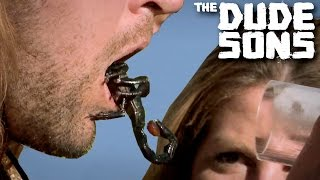 Download Video LIVE SCORPION IN THE MOUTH CHALLENGE!! - The Dudesons MP3 3GP MP4