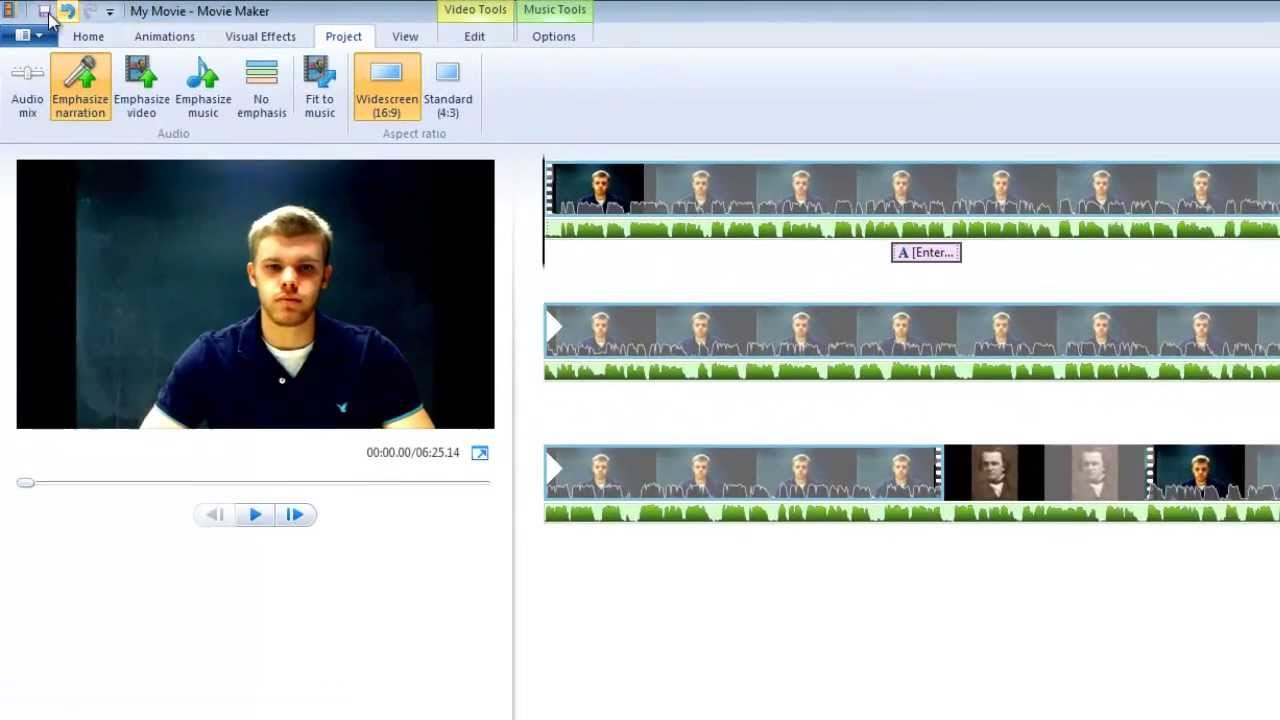 Windows Movie Maker Tutorial Youtube