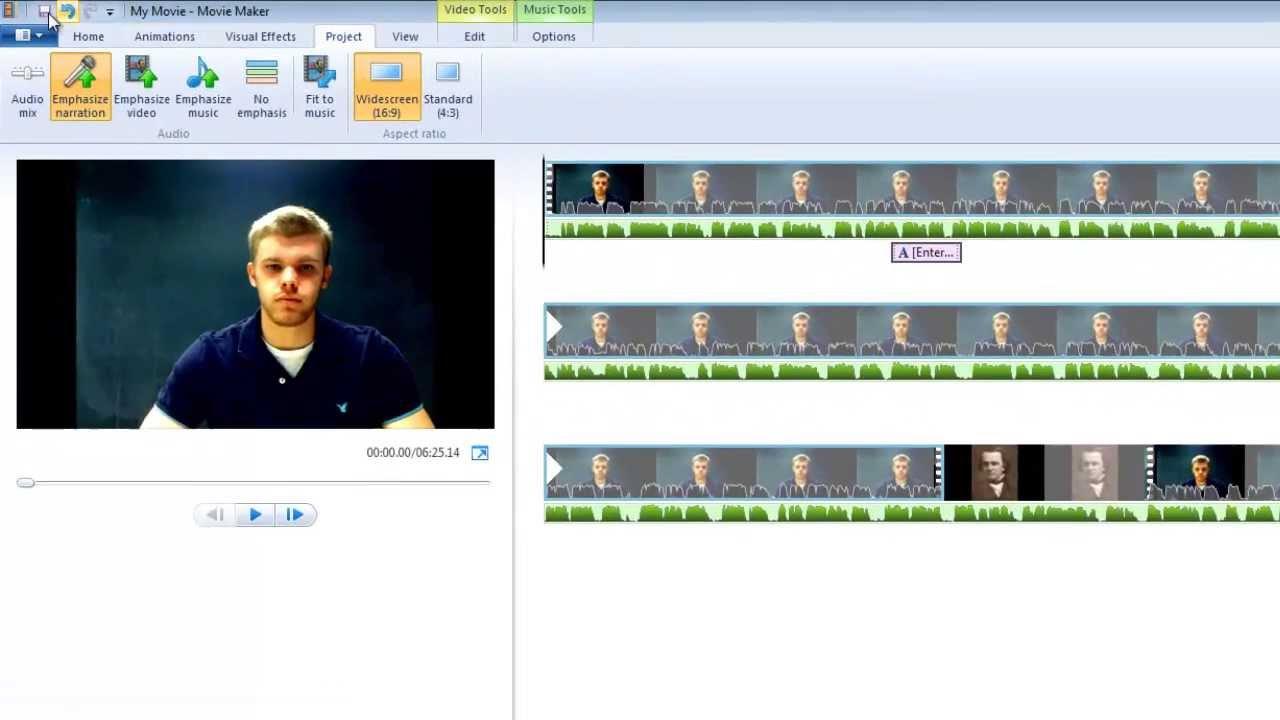 Windows Movie Maker Tutorial - YouTube