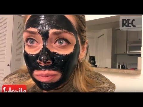 Черная маска для лица betcity