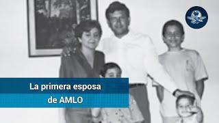 Ella es Rocío Beltrán la primera esposa de AMLO