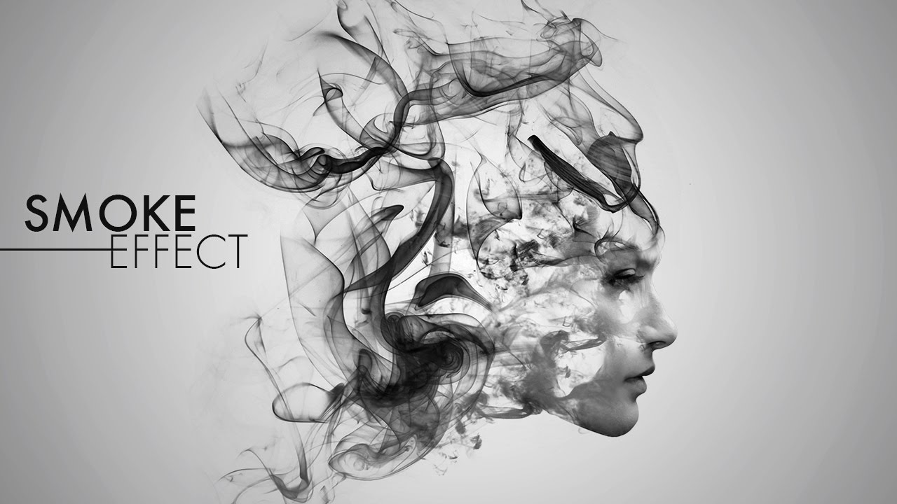 Smoke effect photoshop tutorial youtube baditri Choice Image