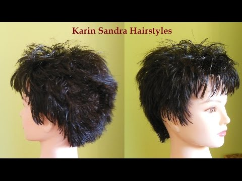 Haircut tutorial | Short layered haircut for Women | Short haircut with layers for women