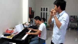 Tình Ca Tây Bắc   sáo trúc & piano