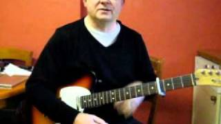 How To Play Down Down By Status Quo On Guitar