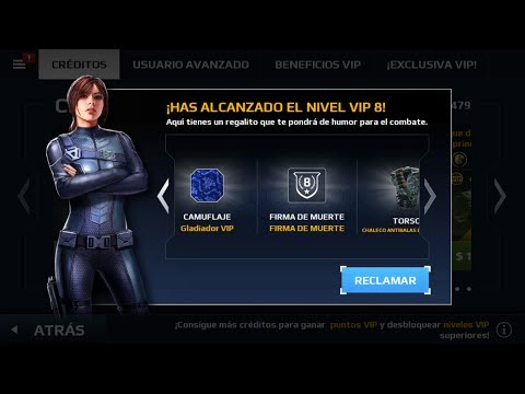 como COMPRAR VIP (8) en modern combat 5