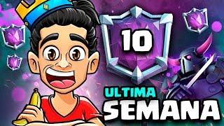 COPYRIGHT! ULTIMOS DIAS FIN DE TEMPORADA! PROS TOP 10 MUNDIAL! LADDER CLASH ROYALE
