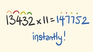 Math trick for multiplication