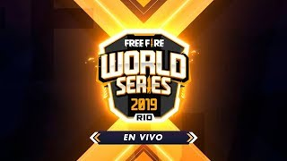 FREE FIRE WORLD SERIES RIO 2019 - EN VIVO!