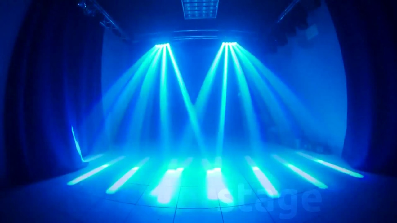 Colorstage 5 Beam Spider Moving Head Youtube