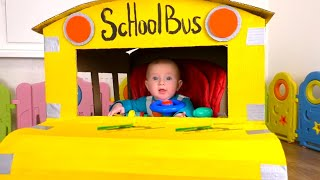 Колеса у автобуса - Детская песня | Песни для детей от Кати и Димы
