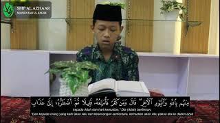 Download [GEMA RAMADHAN] Murottal Jiharkah Surah Al Baqarah Ayat 122 - 129   Muhammad Fathun Ni'am   Kelas IX