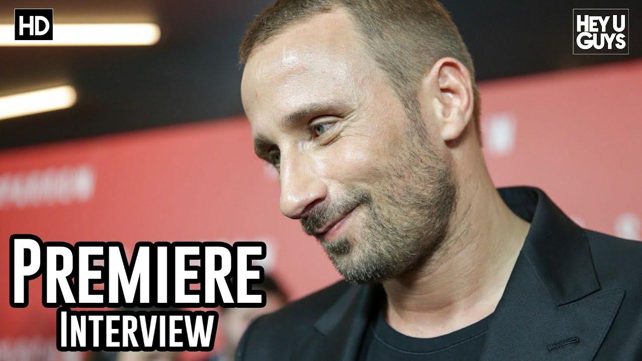 Matthias Schoenaerts - Red Sparrow Premiere Interview - YouTube