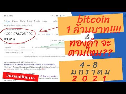 วิเคราะห์ bitcoin 1ล้านบาท ทองคำ จ่อเบรค!!! forex | อาทิตย์ที่ 4-8 มกราคม 2021