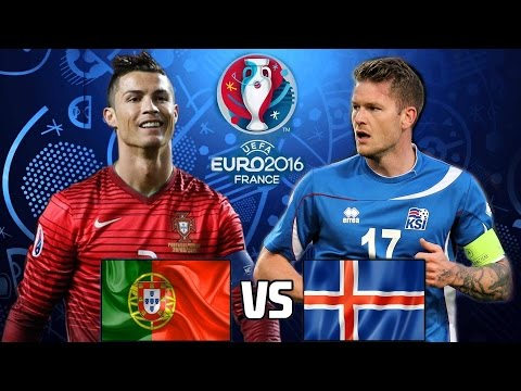 MATCH PORTUGAL vs ICELAND EURO 2016 GROUP F 14/06/2016