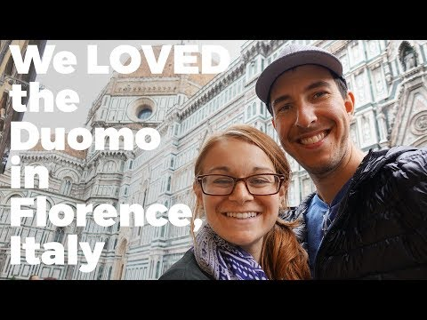 BEST Florence Hotel & Restaurant At The Duomo -  Travel Vlog Day #126