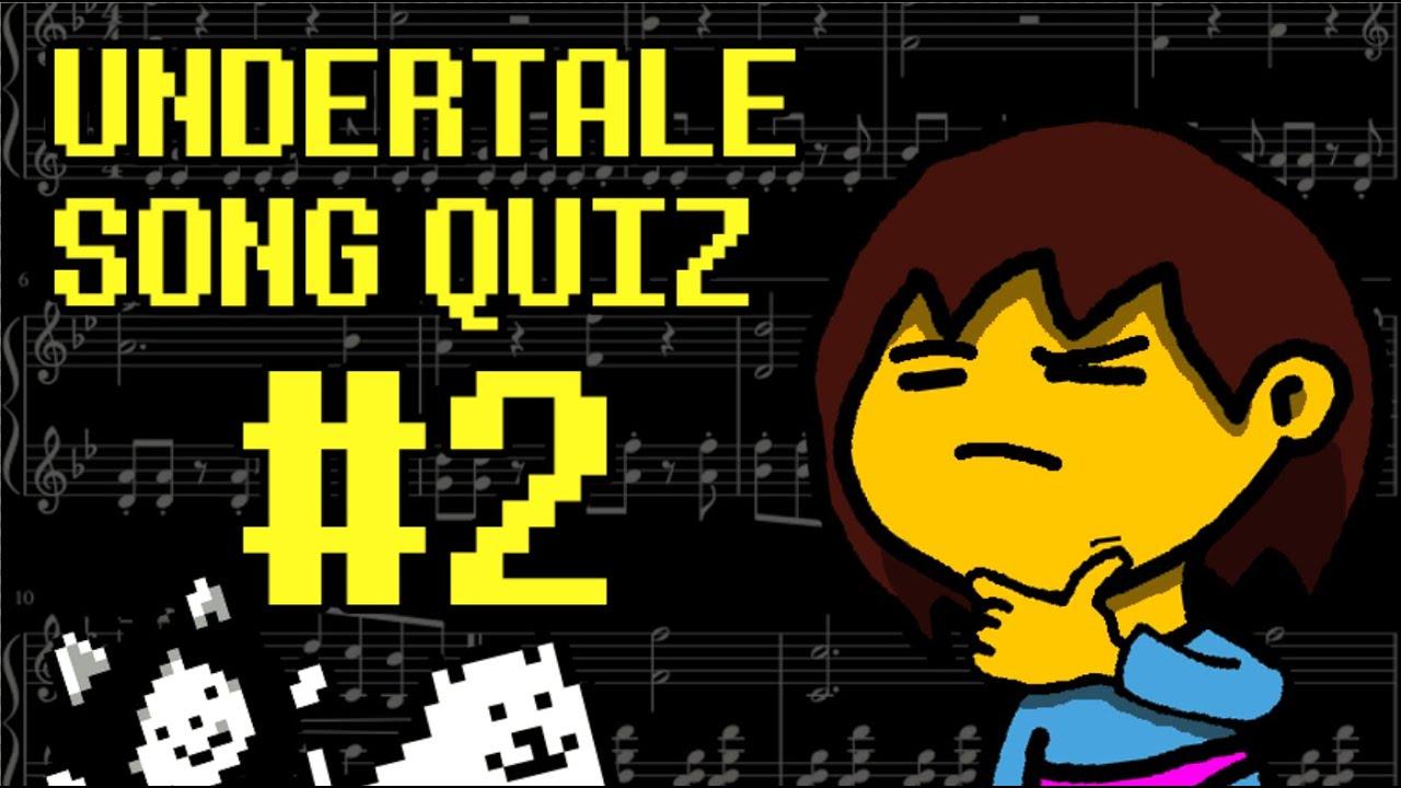 undertale interactive quiz songs youtube