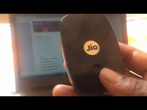 JioFi M2S Wireless 4G Portable Data - Unboxing & Set Up