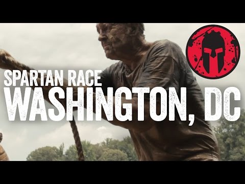 Spartan Race 2014  Washington DC Sprint   Race Video