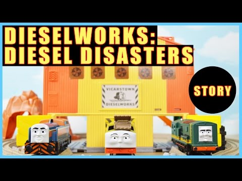Dieselworks: Diesel Disasters | Thomas and Friends Toy Story Full Episode