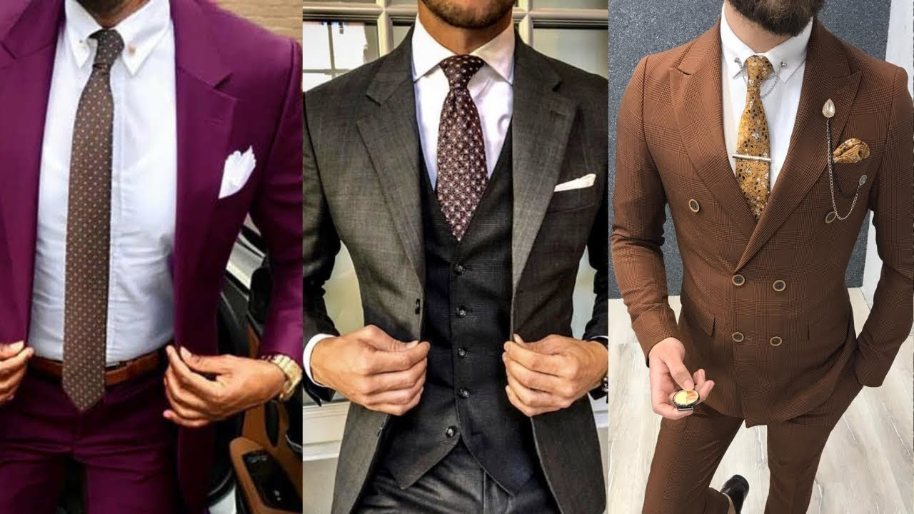 [VIDEO] - TOP 20+ MOST STYLISH SUITS FOR MEN 2019 | WEDDING, PARTY, CASUAL, BUSINESS SUITS COLLECTIONS 2019! 6