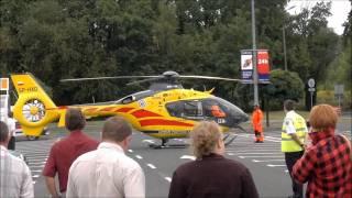 Helikopter pod TESCO Gliwice