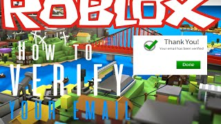 How to verify your email in ROBLOX - 2017/2018