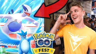 WORLDS FIRST LEGENDARY POKEMON! (Pokemon Go)