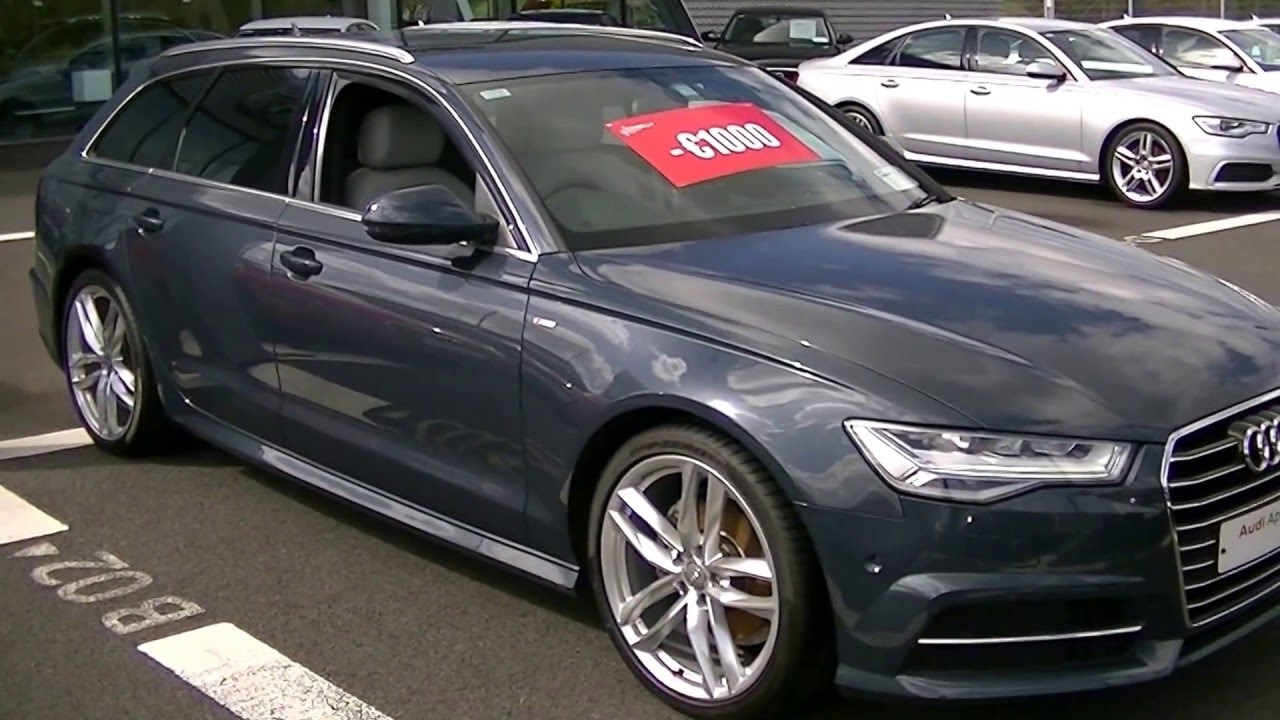 audi sligo audi a6 avant 2 0tdi 190 bhp s line. Black Bedroom Furniture Sets. Home Design Ideas