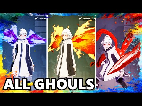 TOKYO GHOUL:re [CALL To EXIST] ALL GHOULS SKILLS ABILITIES SPECIAL ATTACK Gameplay Let's Play Game
