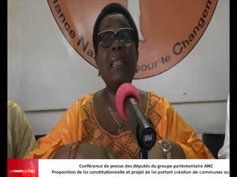 Le tribalisme au cœur de la création de nouvelles communes au Togo, dénoncent les députés ANC