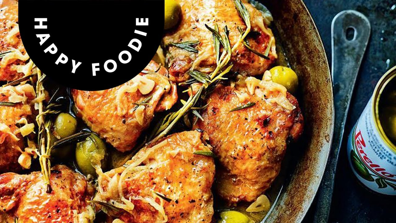Omar Allibhoy's Chicken with Spanish Olives | Tapas Revolution
