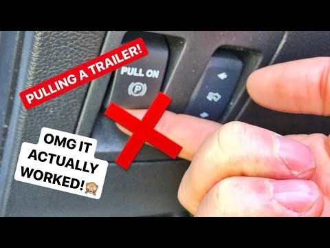 What Happens If You Pull An Electronic Parking BRAKE WHILE DRIVING!