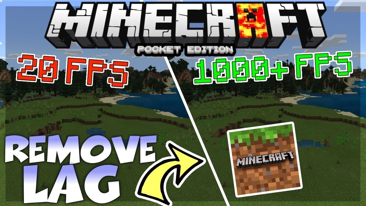 MCPE 8.86 NO LAG - HOW TO REDUCE LAG IN MINECRAFT PE 8.86 - MCPE 8.86 HOW  TO REMOVE LAG