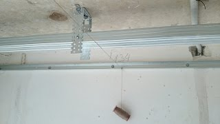 Как сделать потолок из гипсокартона. Plasterboard ceiling.(очередность действий при установке обычного ровного потолка из гипсокартона. Разметка, направляющие профи..., 2015-03-18T18:24:26.000Z)