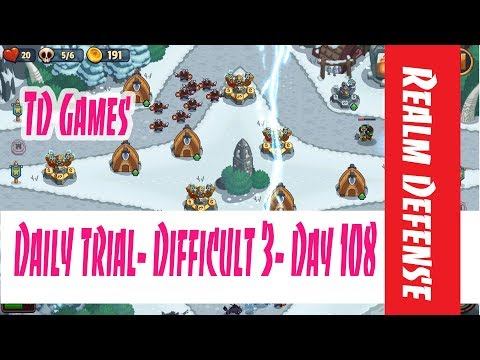 Realm Defense- Daily Trial- Difficult 3- Day 108