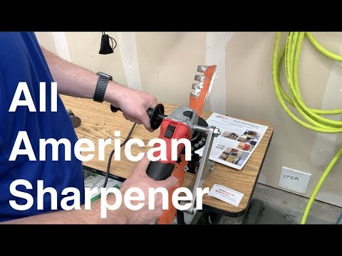 All American Sharpener Unboxing And Assembly
