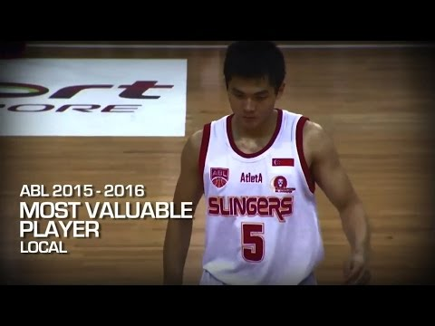 Wong Wei Long - Most Valuable Player (local) | ASEAN Basketball League 2015-2016