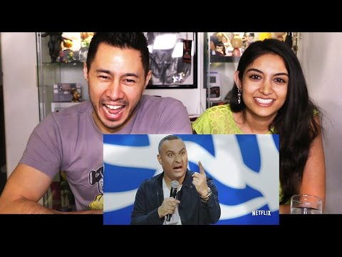 RUSSELL PETERS ALMOST FAMOUS   Netflix   Trailer Reaction