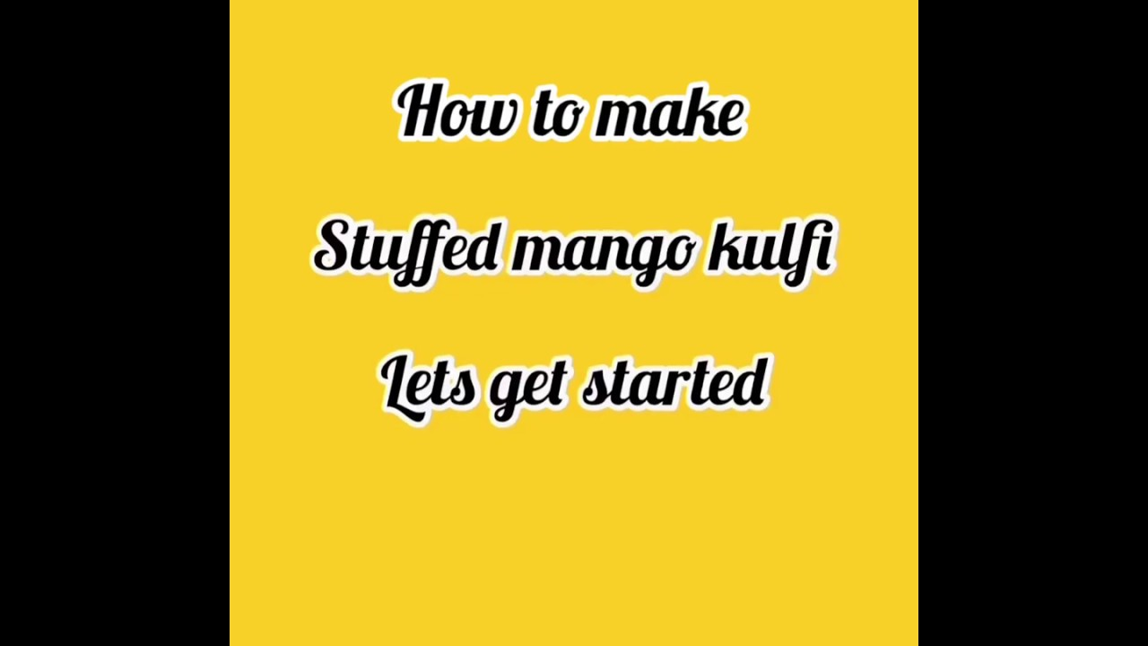 #trending STUFFED MANGO KULFI RECIPE | MANGO ICECREAM RECIPE | INDIAN DESSERT