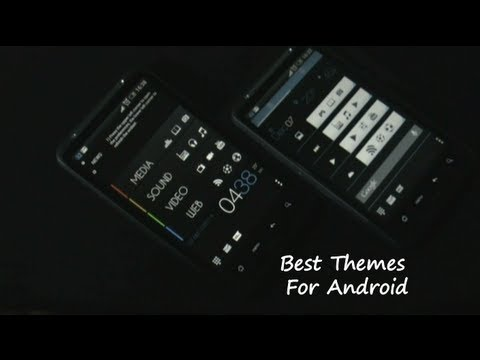 How to create awesome themes for android phonestablets youtube how to create awesome themes for android phonestablets voltagebd Images