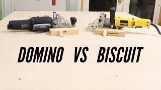 Biscuit Joiner vs Festool Domino