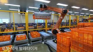 참외 비파괴 로봇 선별 시스템_(주)한국선별기술