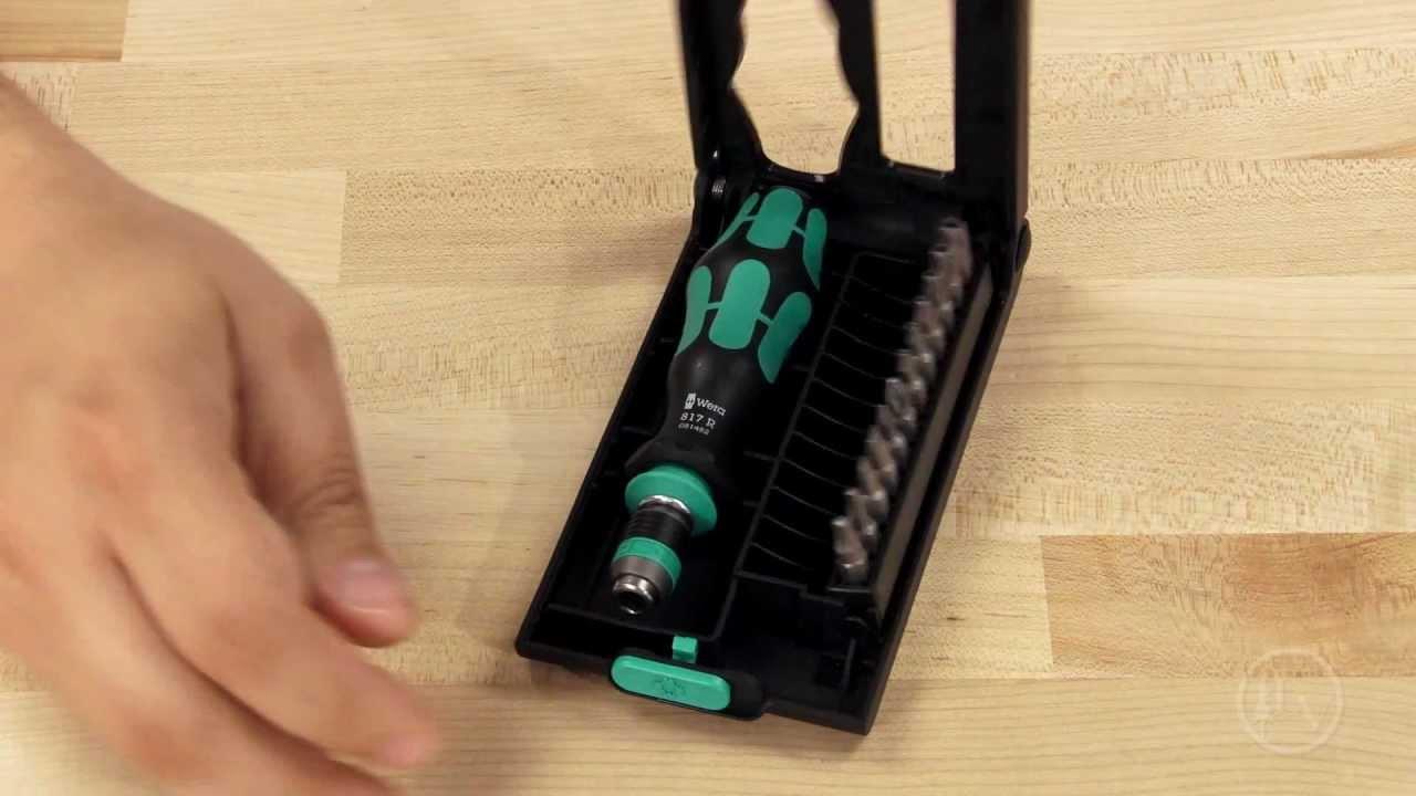 wera kraftform kompakt 50 screwdriver set youtube. Black Bedroom Furniture Sets. Home Design Ideas