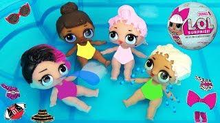 видео Куклы-сюрприз ЛОЛ в шарике