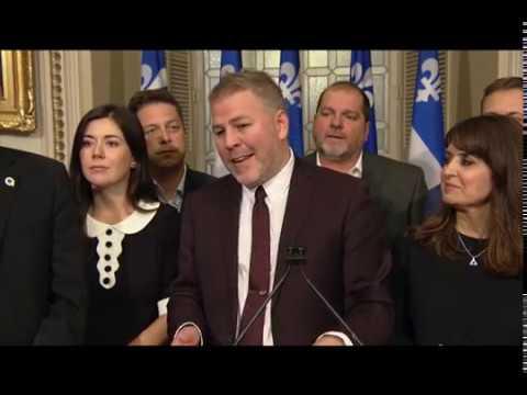Pascal Bérubé est désigné chef par intérim du Parti Québécois