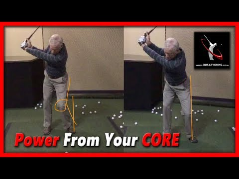 How to Use Your Core to Power Your Golf Swing – RotarySwing Free Golf Lesson 2
