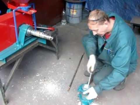 Экструдер гранулятор для сои