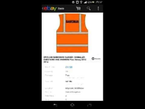 CPCS A40 BANKSMAN SLINGER SIGNALLER QUESTIONS AND ANSWERS Pass theory 2013 2014